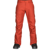 Burton Cargo Mid Mens Snowboard Pants, Clay, medium