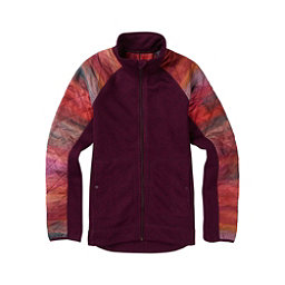 Burton Pierce Fleece Womens Jacket, Starling Heather, 256