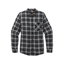 Burton Grace Womens Flannel Shirt, True Black Plaid, 256