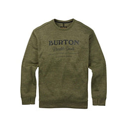 Burton Oak Crew Mens Sweatshirt, Dusty Olive Heather, 256