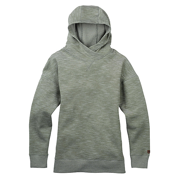 Burton Hixon Pullover Womens Hoodie, Dusty Olive Heather, 600