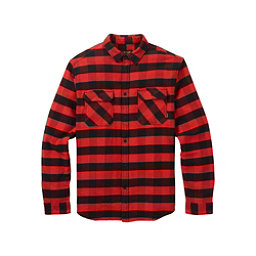 Burton Brighton Burly Flannel Shirt, Fiery Buffalo Plaid, 256