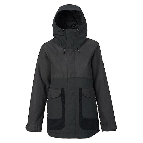 Burton Cerena Parka Womens Insulated Snowboard Jacket, True Black, 600