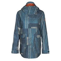 Burton Cerena Parka Womens Insulated Snowboard Jacket, Rainbow Stripe, 256