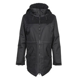 Burton Prowess Womens Insulated Snowboard Jacket, True Black-True Black Cord, 256