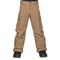 Burton Exile Cargo Kids Snowboard Pants, Kelp, 256