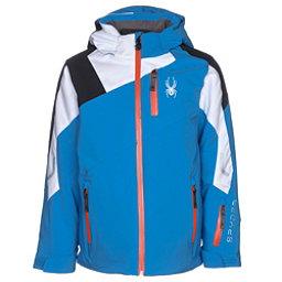 Spyder Avenger Boys Ski Jacket, French Blue-White-Black, 256