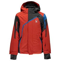 Spyder Challenger Boys Ski Jacket, Burst-Polar-French Blue, 256