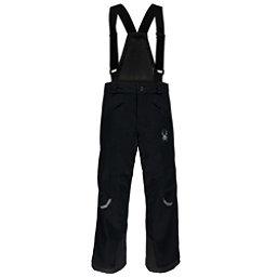 Spyder Force Kids Ski Pants, Black-Black, 256