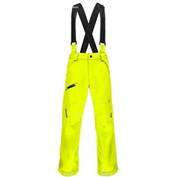 Spyder Propulsion Kids Ski Pants, Bryte Yellow, 256