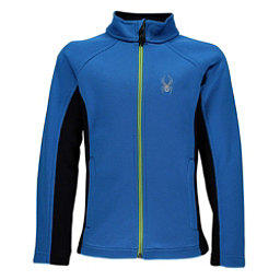 Spyder Constant Full Zip Kids Sweater, French Blue-Fresh, 256