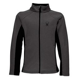 Spyder Constant Full Zip Kids Sweater, Polar-Black, 256