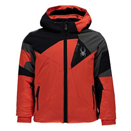 Spyder Mini Leader Toddler Ski Jacket, Burst-Black-Polar, 256