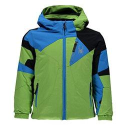 Spyder Mini Leader Toddler Ski Jacket, Fresh-French Blue-Black, 256