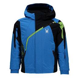 Spyder Mini Challenger Toddler Ski Jacket, French Blue-Black-Fresh, 256