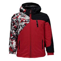 Spyder Mini Ambush Toddler Ski Jacket, Red-White Mini Camo Print-Blac, 256