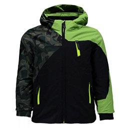 Spyder Mini Ambush Toddler Ski Jacket, Black-Mini Guard Camo-Fresh, 256