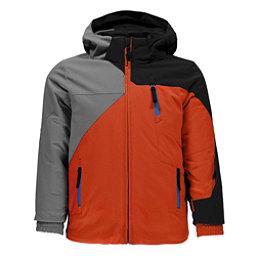 Spyder Mini Ambush Toddler Ski Jacket, Burst-Limestone-Black, 256