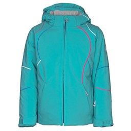Spyder Tresh Girls Ski Jacket, Baltic-French Blue-White, 256