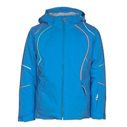 Spyder Tresh Girls Ski Jacket, French Blue-Fresh-White, 256