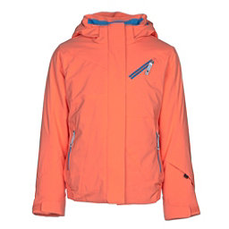 Spyder Lola Girls Ski Jacket, Coral, 256