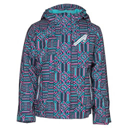 Spyder Lola Girls Ski Jacket, Baltic Geo Print, 256