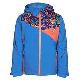 Spyder Project Girls Ski Jacket, French Blue-Frontier Large Dit, 256