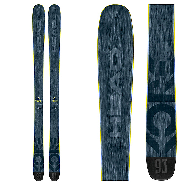 Head Kore 93 Skis 2018, , 600