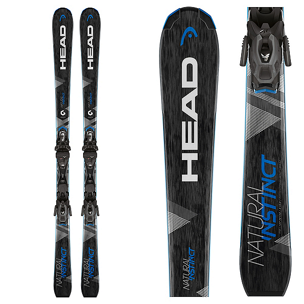 Head Natural Instinct Skis with PR 10 Bindings 2018, , 600