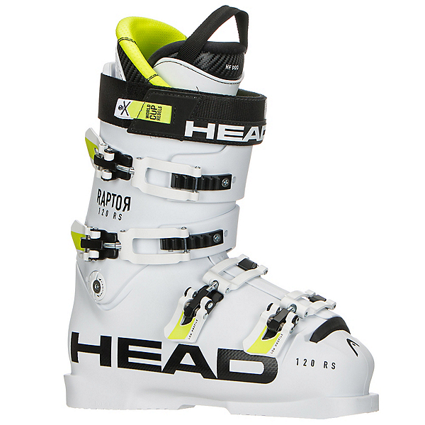Head Raptor 120 RS Race Ski Boots 2018, White, 600