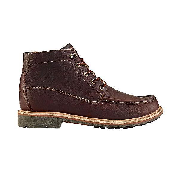 OluKai Kohala Mens Boots, Dark Wood-Dark Wood, 600