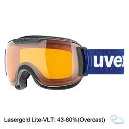 Uvex Downhill 2000 S Race Goggles 2018, Black Matte-Lasergold Lite + Bonus Lens, 256