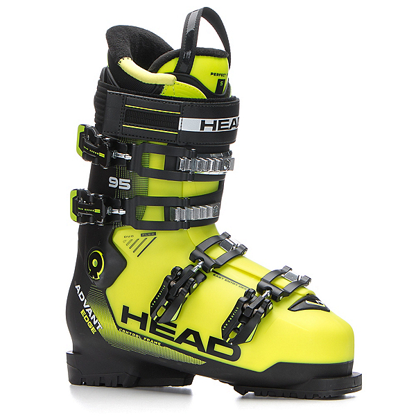 Head Advant Edge 95 Ski Boots 2018, Yellow-Black, 600