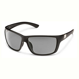 SunCloud Councilman Sunglasses, Matte Black-Gray Polarized, 256