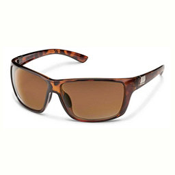 SunCloud Councilman Sunglasses, Tortoise-Brown Polarized, 256