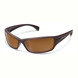SunCloud Hook Sunglasses, Burnished Brown-Brown, 256
