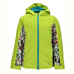 Spyder Charm Girls Ski Jacket (Previous Season), Acid-Kaleidoscope White, 256