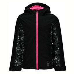 Spyder Charm Girls Ski Jacket (Previous Season), Black-Sequins Black Print, 256