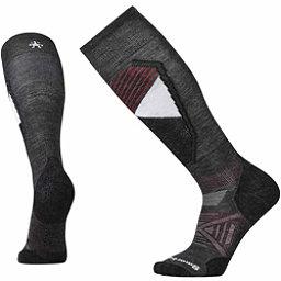 SmartWool PhD Ski Light Pattern Ski Socks, Black, 256