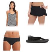 Next Inner Chakra Third Eye Bathing Suit Top & Next Good Karma Bathing Suit Set, , medium