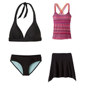 Prana Indra Tankini Bathing Suit Top & Prana Ramba Bottom Bathing Suit Set, , medium