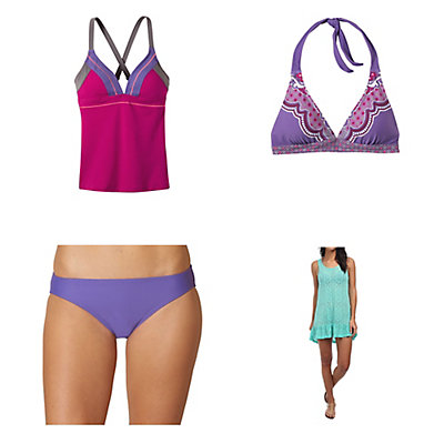 Prana Atla Tankini Bathing Suit Top & Prana Lani Bottom Bathing Suit Set, , large