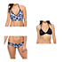 Oakley Wildflowers Midkini Bathing Suit Top & Oakley Wildflowers Spider Bottom Bathing Suit Set