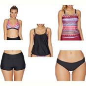 Next Body Renewal 28 Min Bathing Suit Top & Next Good Karma Jump Start Bathing Suit Set, , medium