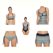 Next Mandala Meditate Bra Bathing Suit Top & Next Mandala Tubular Bottoms Bathing Suit Set, , medium
