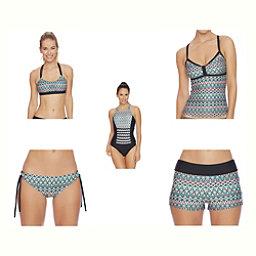 Next Mandala Meditate Bra Bathing Suit Top & Next Mandala Tubular Bottoms Bathing Suit Set, , 256