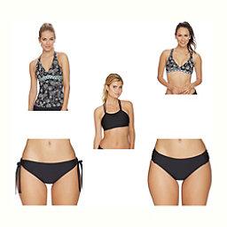 Next Vidya Superwomen Tankini  Bathing Suit Top & Next Good Karma Tubular Bottoms Bathing Suit Set, , 256