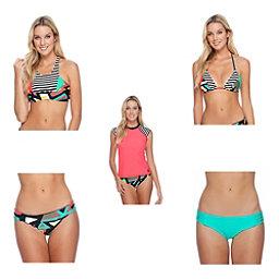 Body Glove Urbania Krista Bathing Suit Top & Body Glove Urbania Surf Rider Bottoms Bathing Suit Set, , 256
