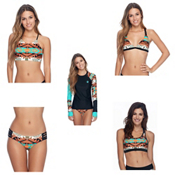 Body Glove Terra Elena Bathing Suit Top & Body Glove Terra Ruby Bottoms Bathing Suit Set, , medium