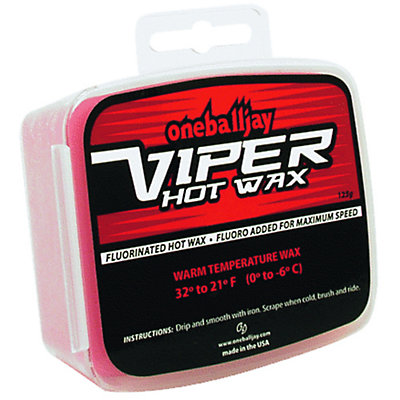 One Ball Jay Viper 125g Hot Wax - Warm, , large